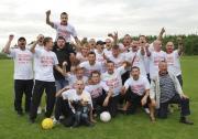 LKS Czaniec historyczny awans do III ligi - 2012r.