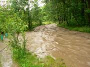 7.VI.2007 Powódź w Czańcu - Domaczka